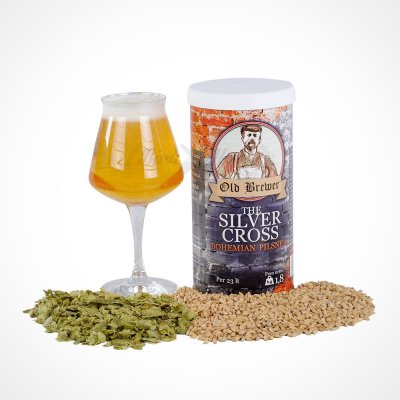 The Silver Cross Bohemian Pilsner Bira Kiti